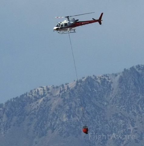 N352SA — - During firefighting operations near Lone Pine, California on July 1, 2016.