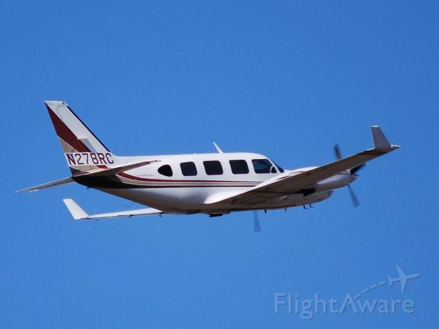 Piper Navajo (N278RC) - SANBORN MAP COMPANY INC departing from runway 02 at KJQF - 2/3/09
