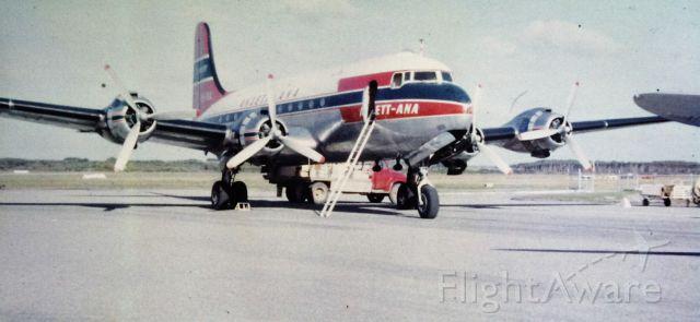 Douglas C-54 Skymaster (VH-INX) - Ansett-ANA DC4
