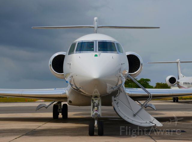 Gulfstream Aerospace Gulfstream G650 (N1AL) - N1AL seen at Owen Roberts International Airport. Please look for more photos at Opshots.net