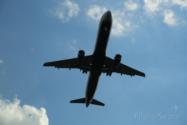 Airbus A321 — - Taken on 8/17/14, near KEWR.
