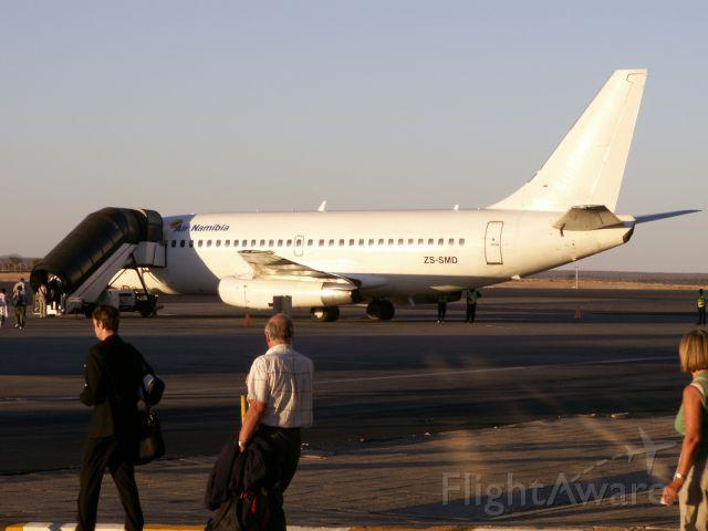 Boeing 737-200 (ZS-SMD) - Airport Windhoek Hosea Kutako Int