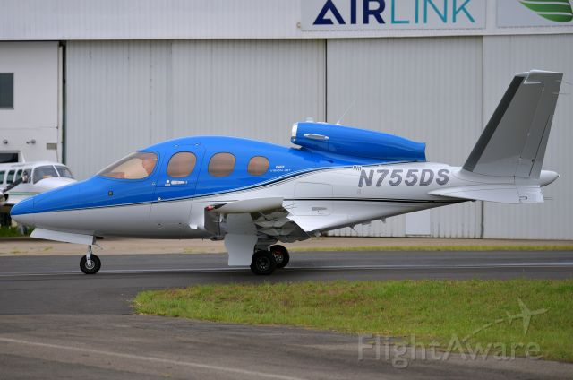 Cirrus Vision SF50 (N755DS) - My first time seeing the Vision Jet at Bankstown. February 2, 2021.
