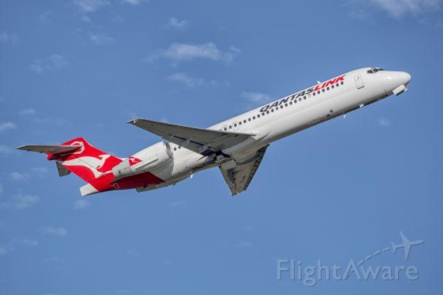 Boeing 717-200 (VH-YQX) - QantasLink 1592 to Brisbane takes o