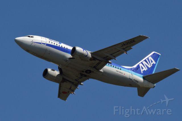 Boeing 737-500 (JA356K) - 2014-08-26