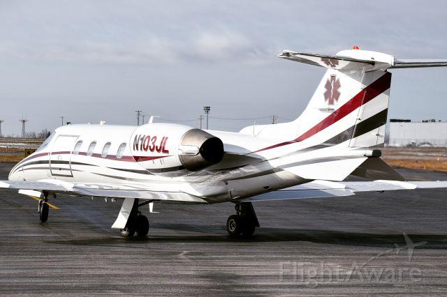 Learjet 31 (N103JL) - Year: 1990<br />Make: Learjet <br />Model: 31<br />Opby: Thunderun Aviation (MedEvac)
