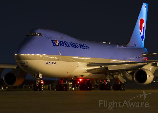 Boeing 747-400 (HL7605) - Aug. 16, 2012.