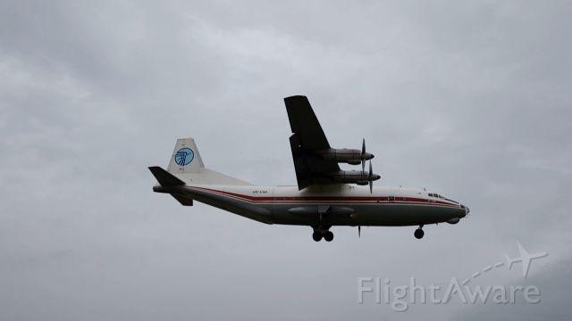 Antonov An-12 (UR-CAH) - Attérrissage dun Antonov An-12 de Ukraine Air Alliance à Vatry (Partie 3)