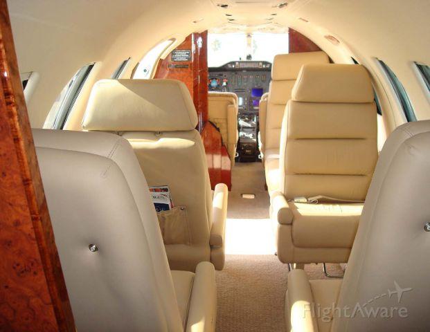 Cessna Citation 1SP (N5411) - Interior forward,