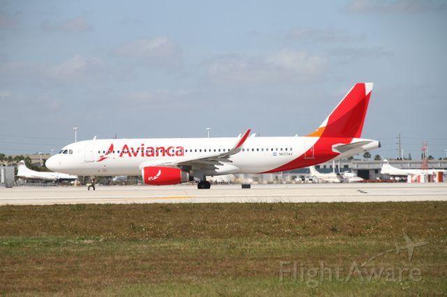 Airbus A321 (N603AV)