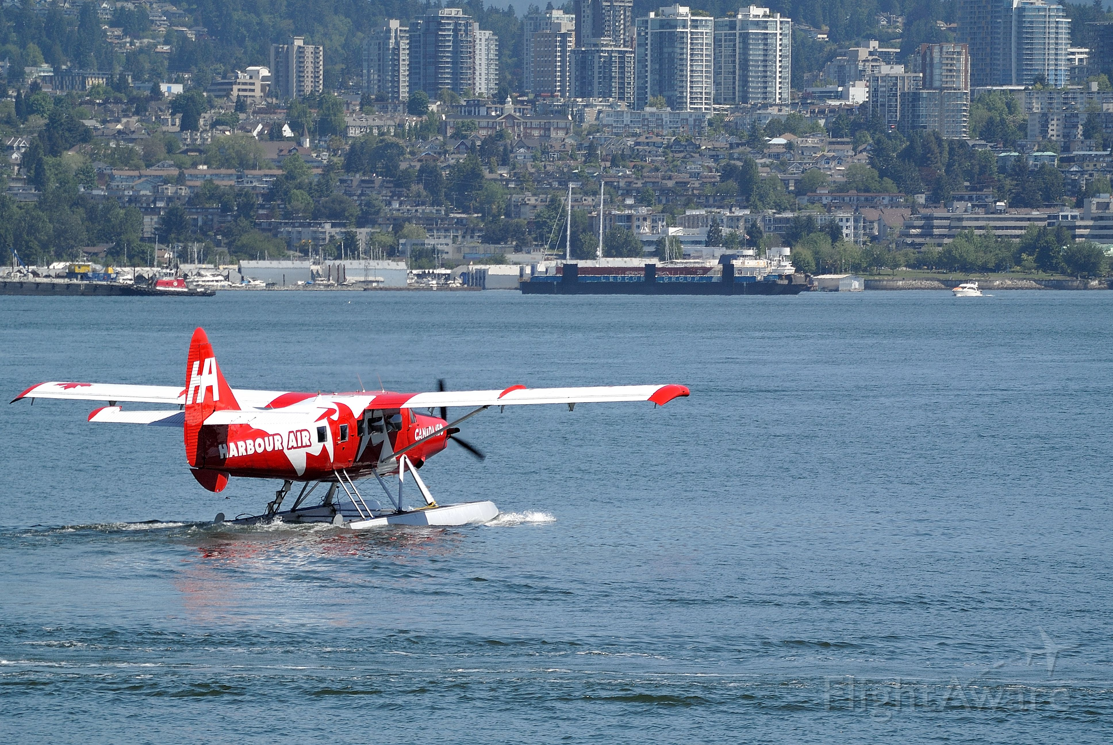 De Havilland Canada DHC-3 Otter (C-FODH) - In special livery to mark Canada