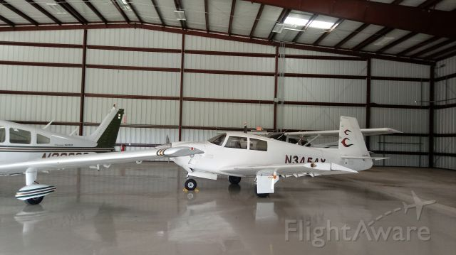 N3454X — - Another angle of her in hanger