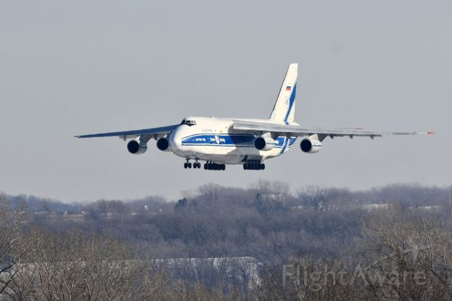 Antonov An-124 Ruslan (RA-82045) - On approach to 30L with a special delivery all the way from Halle-Liepzeg Germany