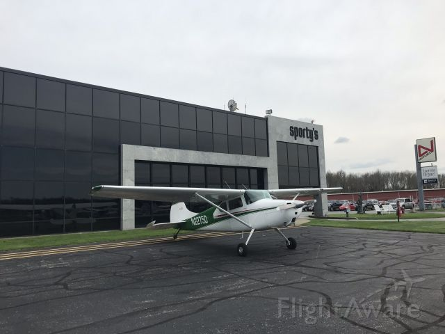 Cessna 170 (N2275D) - Shopping at Sporty's Pilot Shop at Claremont Airport in Ohio