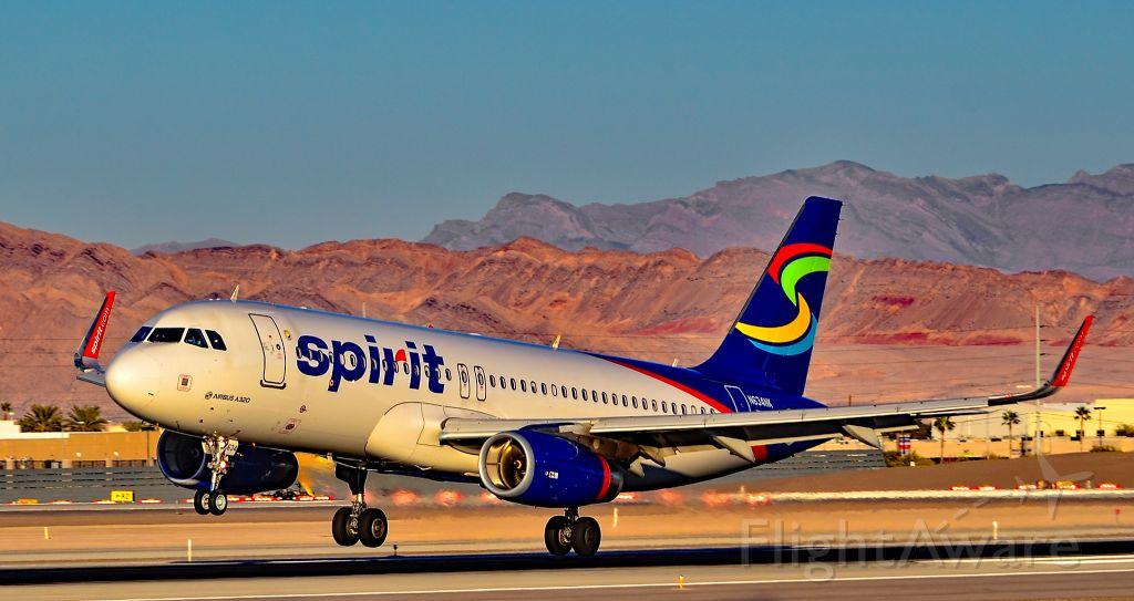 Airbus A320 (N634NK) - N634NK  Spirit Airlines 2014 Airbus A320-232 - cn 6370 - Las Vegas - McCarran International (LAS / KLAS)<br />USA - Nevada, November 29, 2015<br />Photo: Tomás Del Coro