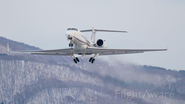 Gulfstream Aerospace Gulfstream V (VP-CTE) - Jet Aviation Business Jets [PP/PJS]br /Gulfstream Aerospace G550br /Jan.30.2016 Hakodate Airport [HKD/RJCH] JAPAN
