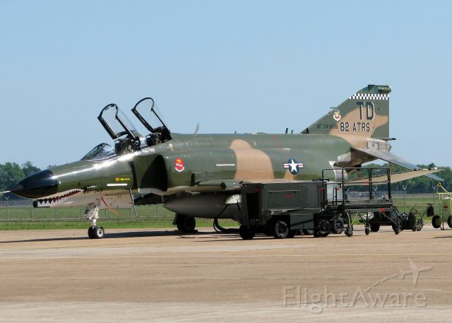 McDonnell Douglas F-4 Phantom 2 (74-1638) - At Barksdale Air Force Base.