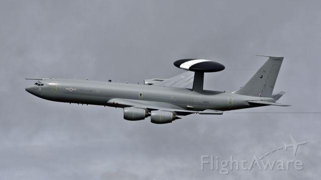 ZH106 — - Royal Air Force Boeing E-3D Sentry AEW1 (707-320B) performing a flypast at the RAF Scampton Air Show - 9th September 2017