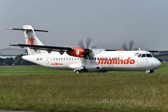 ATR ATR-72 (9M-LMO)