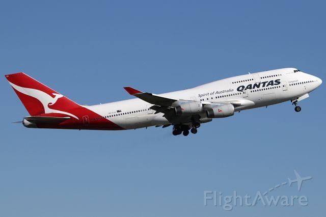 Boeing 747-400 (VH-OJU) - on 7 May 2017