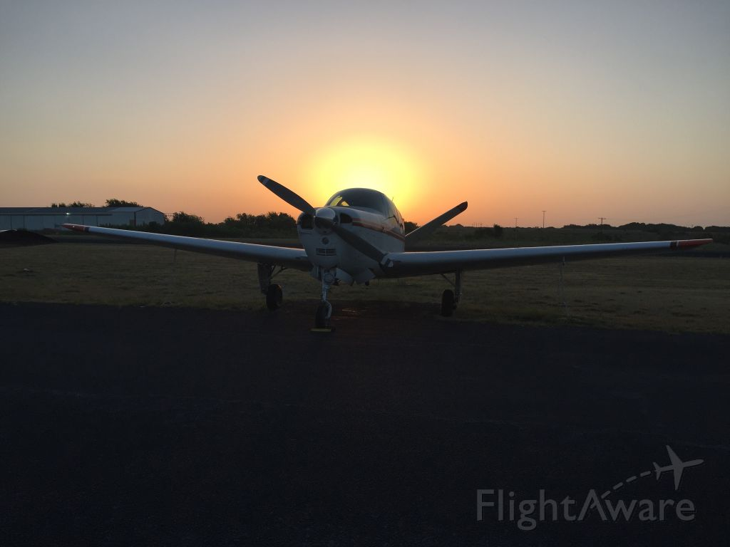 Beechcraft 35 Bonanza (N98GM) - still in one piece after emergency landing...engine is toasted though...
