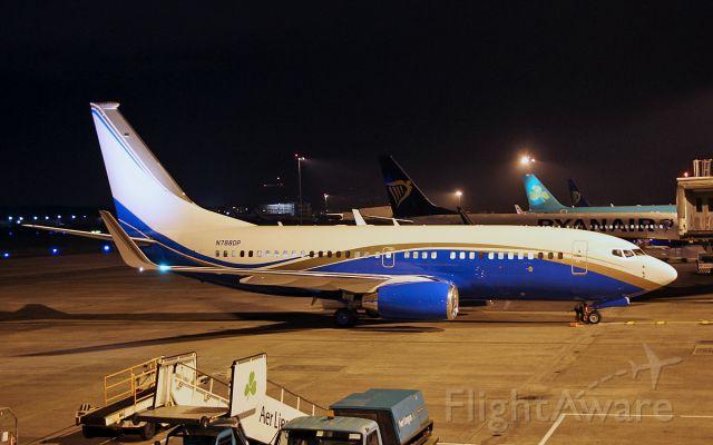 Boeing 737-700 (N788DP) - n788dp b737-79u bbj at shannon 1/11/17.