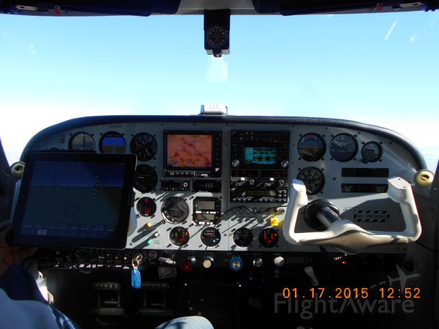 Piper PA-24 Comanche (N333KB) - Enroute A39 to 5T6