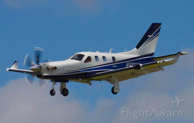 Daher-Socata TBM-900 (N930XX) - TBM930XX Landing