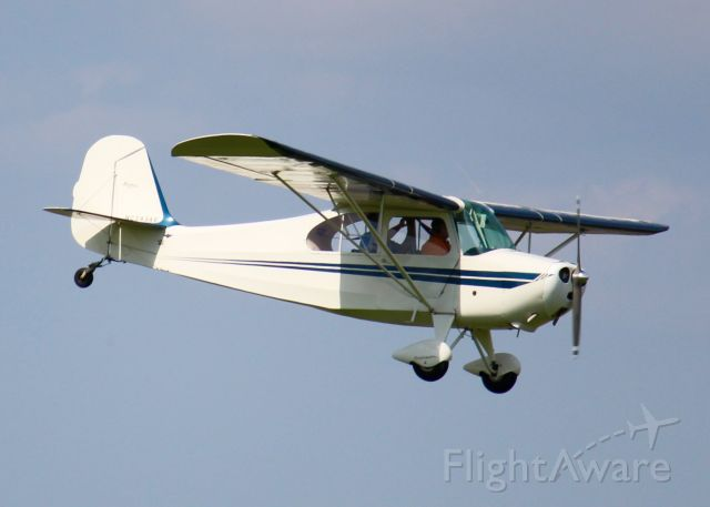CHAMPION Tri-Traveler (N2434E) - At Downtown Shreveport. 1946 Aeronca 7AC Champion