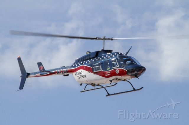Bell JetRanger (N12AE) - AEL Bell 206L departing Baylor Scott & White hospital in Temple, Texas