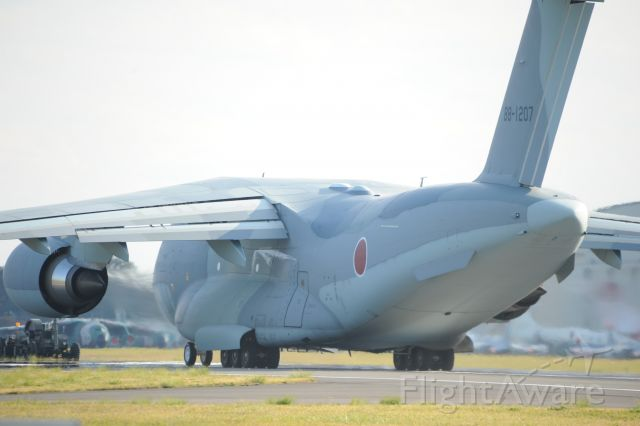 88-1207 — - 3.Nov.2018br /This aircraft is the latest C-2 transport aircraft of the Japan Air Self Defense Force.br /The aircraft is made by Kawasaki Heavy Industries.