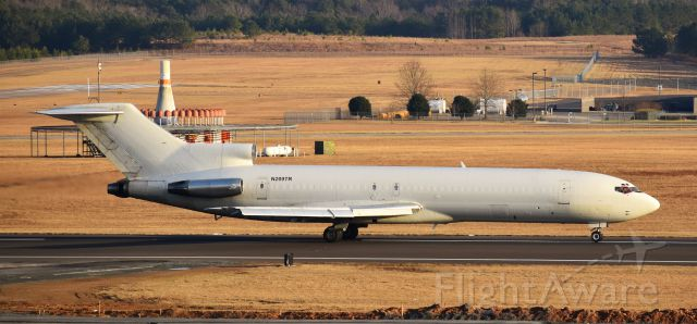 BOEING 727-200 (N209TR) - Something I have not seen in a LONG time - a flying 727, rare around these parts. And speaking of parts, she was supposed to be here at RDU picking up auto parts - not sure if that was the reason, but I certainly didn