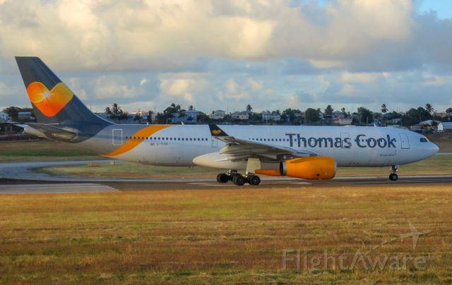 Airbus A330-200 (G-TCXB)