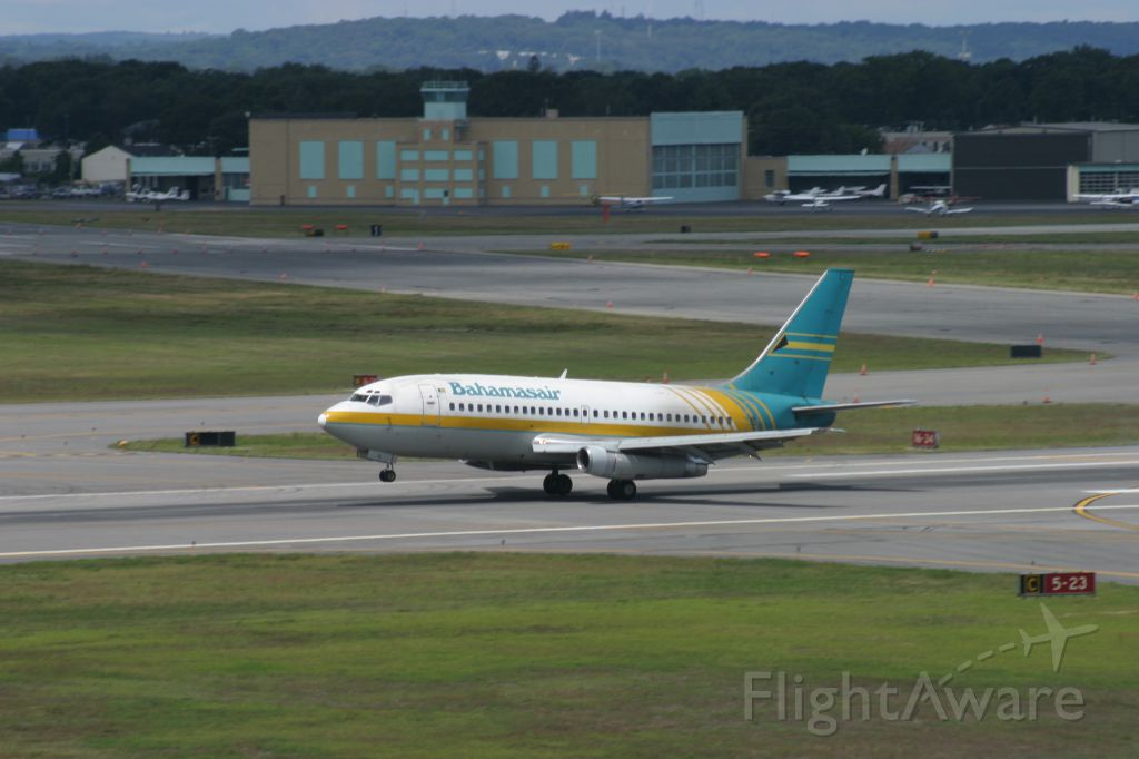 Boeing 737-200 — - Bahamas Air B732 lands runway 23 on a charter.