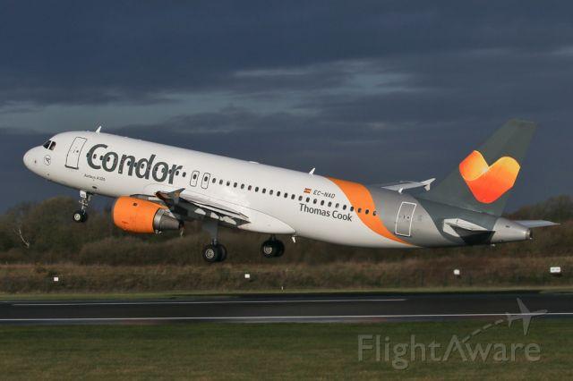 Airbus A320 (EC-NAD) - TCX1810 departing to Tenerife