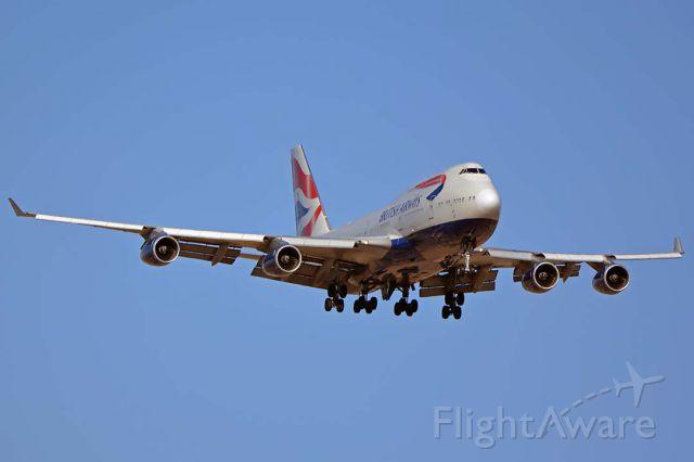 Boeing 747-400 (G-BNLN) - British Airways 747-436 G-BNLN at Sky Harbor on June 10, 2018