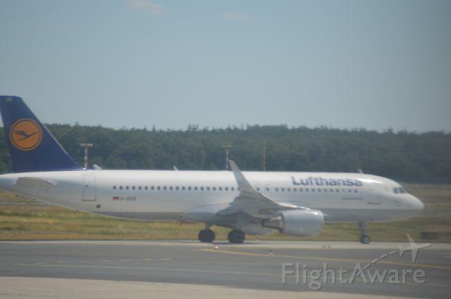 Airbus A320 (D-AIUE)