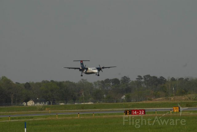 N810EX — - Dash 8 100 Service from PHL in the new USAirways Paint Scheme.