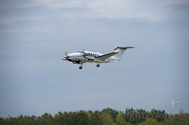 Beechcraft Super King Air 200 (N881MC) - Departures last day Masters 2018