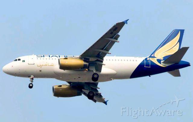 Airbus A319 (AP-BNK)