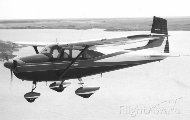 Cessna Skylane (N4054D) - My plane was the prototype for the Skylane and used as a model for sales brochures.  Also on the cover of the first AOPA magazine, March 1958