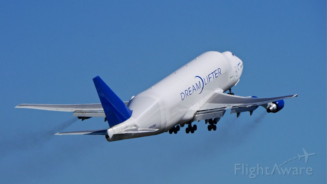 Boeing 747-400 (N747BC) - GTI4516 climbs from Rwy 16R for a flight to RJGG / NGO on 8/7/14. (LN:904 / cn 25879).