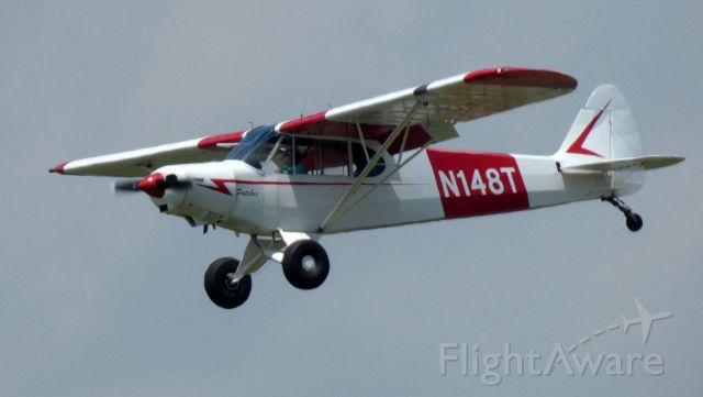 Piper L-21 Super Cub (N148T) - On final is this 1953 L-21 Super Cub PA-18-105 in the Summer of 2021.