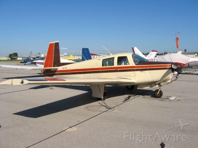 Mooney M-20 (N5770Q) - PARKED AT FULLERTON