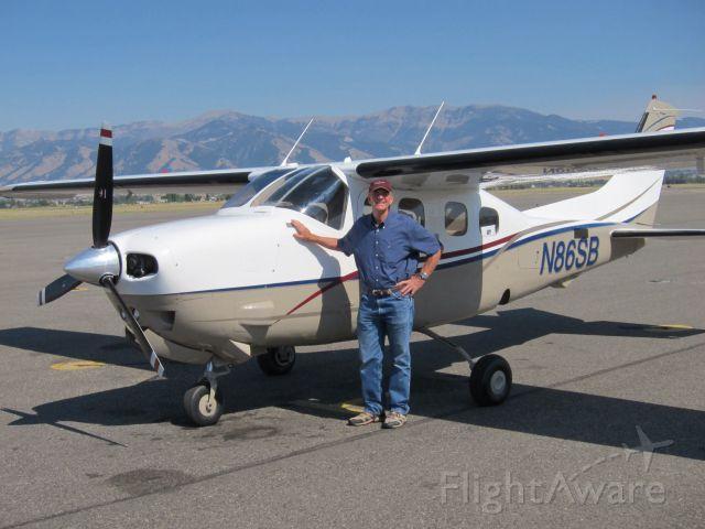 Cessna P210 Pressurized Centurion (N86SB) - Bozeman, Montana