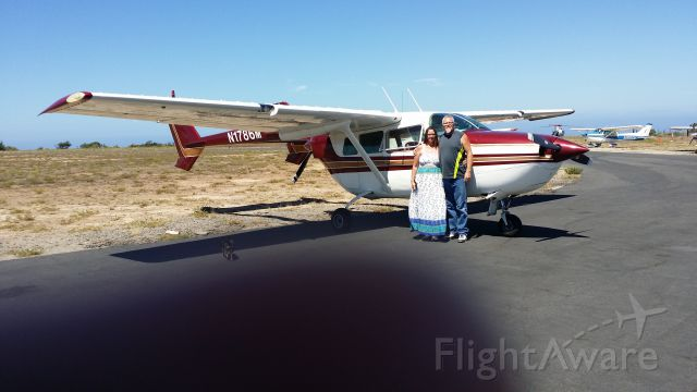 Cessna 336 Skymaster (N1786M) - Visiting Catalina with family