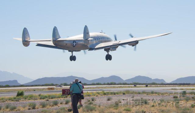 Lockheed EC-121 Constellation (N9463) - 03/21/2016 Air Force One taken off from Marana Regional AP AZ. Columbine II, 6410.
