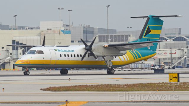 — — - DHC8-311 C6-BFH Imaged on 1/13/12