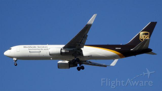 BOEING 767-300 (N354UP) - N354UP United Parcel Service (UPS) Boeing 767-300F - cn 37862 / ln 1044<br />First Flight *Jan 2013<br />Age2.4 Years<br />26-May-2015B763/LMetropolitan Oakland Intl (KOAK)San Jose Int