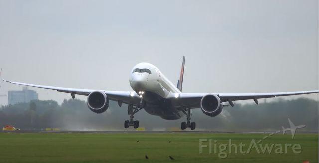 Airbus A350-900 (N513DZ) - departing to Detroit